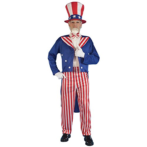 Uncle Sam Adult Costume -Adult