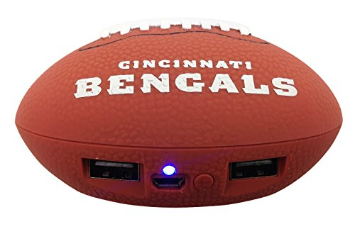 Nfl Cincinnati Bengals Phone Charger  One Size  Brown