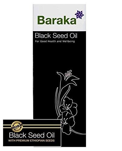 Baraka Black Seed Oil - Premium Quality 100 ml ( 3.38 fl oz )100% Pure Cold pressed,, Nigella Sativa, Black Cumin, Made from Ethiopian origin seeds by Baraka