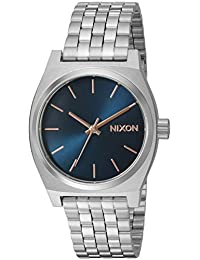 Nixon Women's The Medium Time Teller Navy/Rose Gold