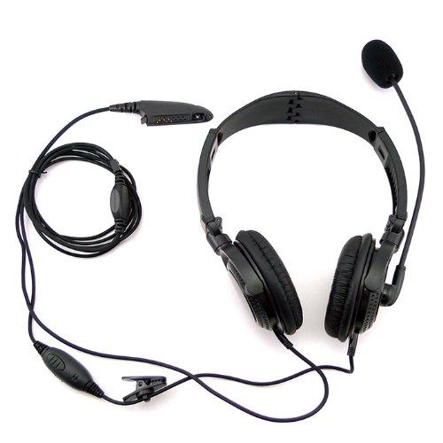 overhead noise cancelling headset earpiece