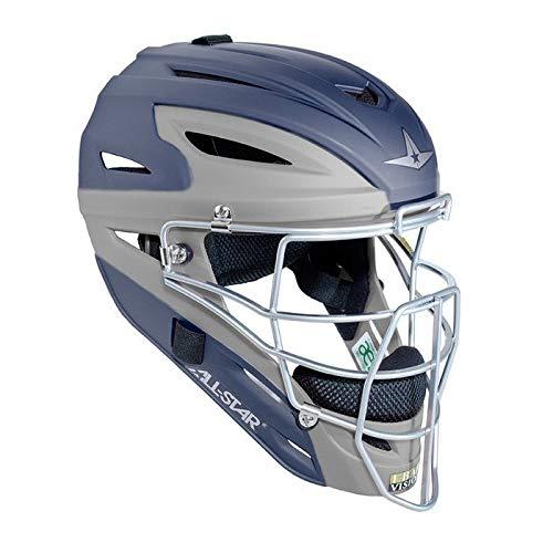 Image of All-Star Mvp2500 Two Tone Matte Catchers Helmet Catcher Helmets