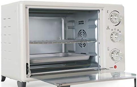 Four 30 L blanc 1380 W ventilé