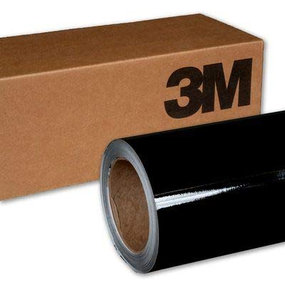 3M 1080 G12 GLOSS BLACK 3in x 5in (SAMPLE SIZE) Car Wrap Vinyl Film by 3M (Image #3)