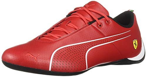 PUMA Men's Ferrari Future Cat Sneaker Rosso Corsa White, 9 M US