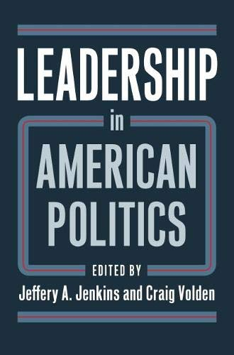Leadership in American Politics pdf epub