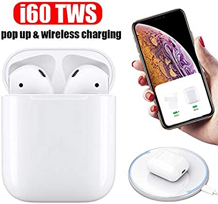 Original i60 TWS 1:1 Pop up Tap Earphone With Wireless