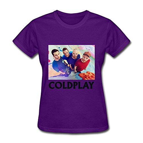 Coldplay A Head Full Of Dreams Tour T Shirt For Women