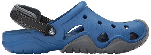 Sabots Bleu Jean Men Blue ardoise Swiftwater Crocs Gris Egwqtppx