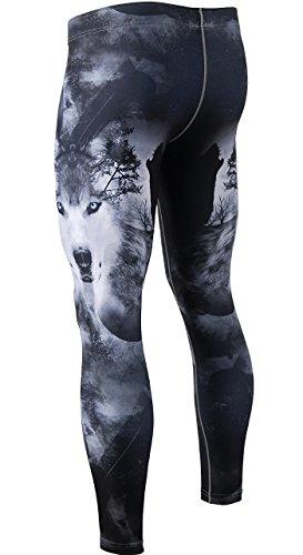 d85d6725f0 zipravs BJJ Compression Tight Pants Workout Running Baselayer For Men