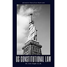 Quizmaster Point of Law Flash Cards: Constitutional Law