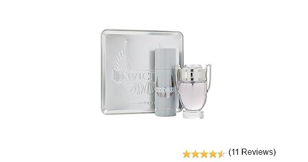 Paco Rabanne Invictus Set homme/hombres, Eau de Toilette Vaporisateur/spray de 100 ml, desodorante vaporizado/spray 150 ml, 1 paquete (1 x 250 ml): Amazon.es: Belleza