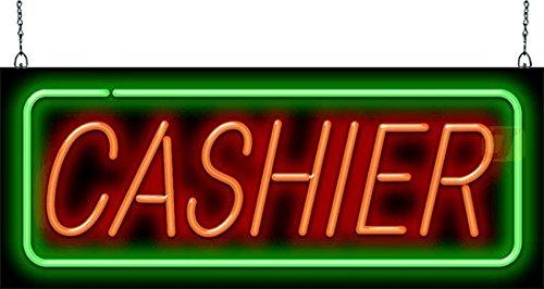 (Cashier Neon Sign )