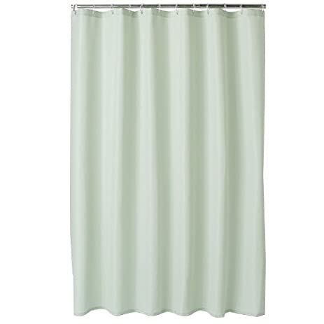 Amazon.com: Home Classics Embossed Fabric Shower Curtain Liner: Home ...