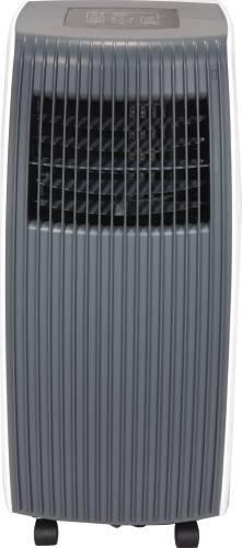 GARRISON 1028314 Portable Air Conditioner, Remote Control, White/ Gray