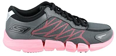 Skechers Performance Women's Go Bionic Fuel Walking Shoe,Charcoal/Hot Pink,6 M US