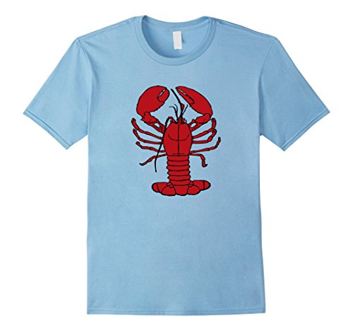 Lobster Baby Costume Amazon (Mens Lobster Costume Shirt Sea Life Animal Theme Party Medium Baby Blue)