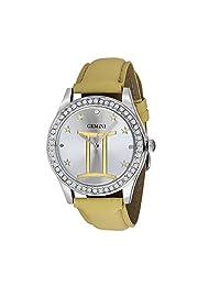 Unisex Crystal Zodiac Horoscope Watch- Gemini