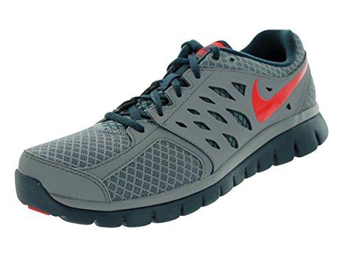3e309bfbfab Nike Men s Flex 2013 RN Cool Grey Chllng Red Army Nvy Running Shoe 9.5 Men  US  Amazon.ca  Shoes   Handbags