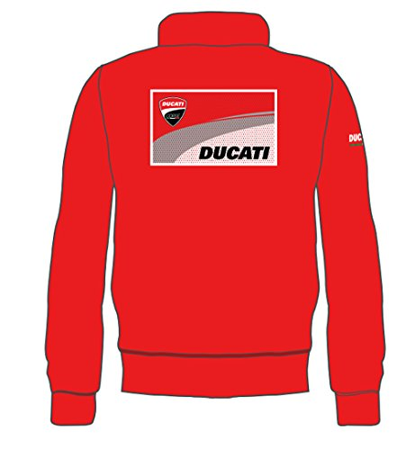 Ducati Hombre Rojo nbsp;sudadera Pritelli L 1726001 Logo vUEqEBC