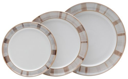 Denby Truffle Layers Wide Rimmed Dessert/Salad Plate by Denby