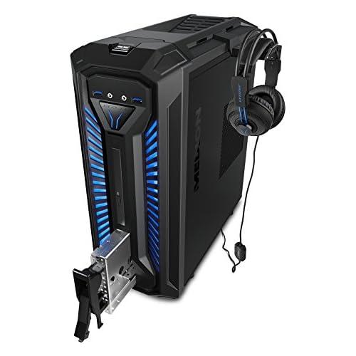 chollos oferta descuentos barato MEDION 10022688 X30 RGB Ordenador de sobremesa gaming Intel Core i5 9400 8GB RAM 1TB HDD Nvidia GTX1060 3GB Windows 10 Negro