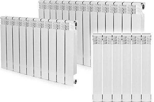 6 Section , Bimetal, Wall-hung ,Aluminum Heating Radiator. by Yanex Industries (Image #5)