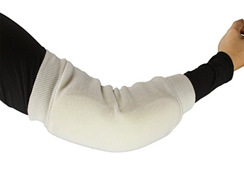 ObboMed® MB-1930S Therapeutic Heel/Elbow Protector Sleeve- Heel Arch Support/Ankle Sock- Breathable Fabric Cotton & Poly Foam Maximizes Skin Aeration, Minimizes Pressure- S: 9
