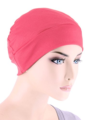 Fashionable Pink Womens Hat - 5