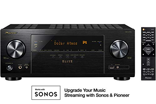 Pioneer VSX-LX103 Elite 7.2 Channel Network A/V Receiver Black