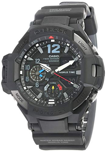 Men's Casio G-Shock Master of G Gravitymaster Black Watch GA1100-1A1