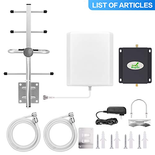 Verizon Cell Mobile Phone Signal Booster 700MHz Band 13 High Gain Signal Amplifier 4G LTE Cell Signal Repeater Booster Kit for Home with Outdoor Yagi Antenna ()