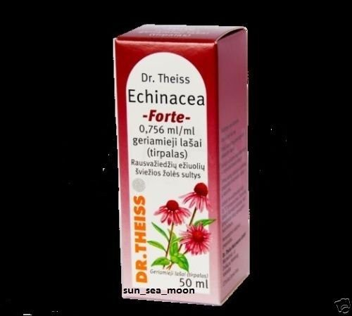 Dr Theiss Echinacea Forte drops 5 .