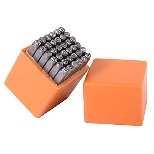 Goplus 36 pcs Letter and Number Steel Metal Stamping Stamper
