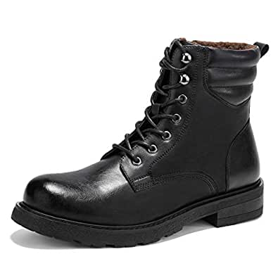 Amazon.com | GM GOLAIMAN Men's Snow Boots Winter Combat
