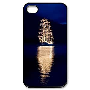 -ChenDong PHONE CASE- For Iphone 4 4S case cover -Sailing & Sunset-UNIQUE-DESIGH 19