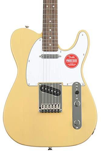 Squier by Fender Standard Telecaster Beginner Electric Guitar - Vintage ()