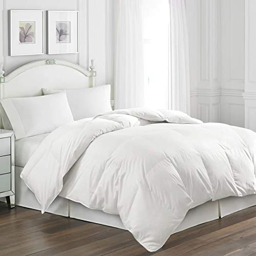 Hotel Suite White Goose Feather & Down Comforter, Twin