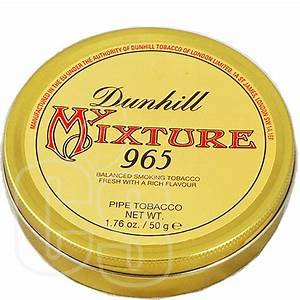 Dunhill Pipe Tobacco (habano757: DUNHILL MIXTURE 965 SEALED COLECTIBLE 50 GR. PIPE TOBACCO TIN)
