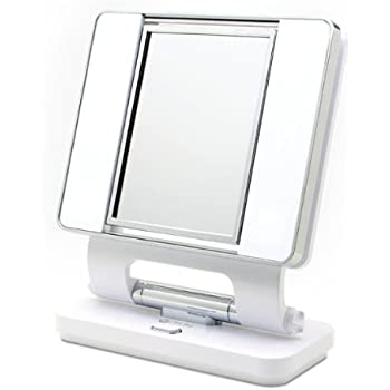 Amazon Com Ottlite Makeup Mirror B41003 5x And 1x Dual
