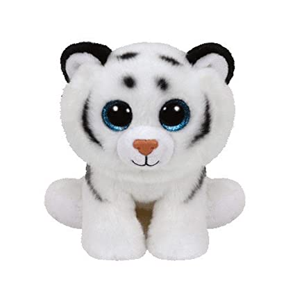 Amazon.com  Ty Beanie Babies Tundra - White Tiger  Toys   Games 1b412a210d