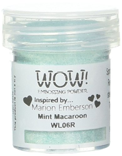 Wow Embossing Powder WL06R 15ml-Opaque Mint Macaroon