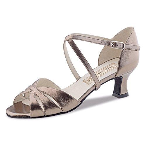 Nucléaire Werner - Femmes Chaussures De Danse Dafne Chevro Antique