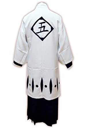 CTMWEB Bleach Cosplay Costume - 5th Division Captain Outfit