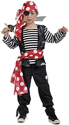 Limit Sport - Disfraz de pirata marinero para niño (MI948): Amazon ...