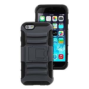 ieasysexy Shield Series TPU Rugged Hybrid Hard & Kickstand for Iphone 6 Case 4.7 Screen