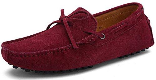 Hombre 38 Mocasines Borgoña 1 JOOMRA para 49 Zapatos qFwHS