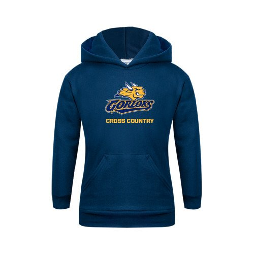Webster Youth Navy Fleece Hoodie Cross Country