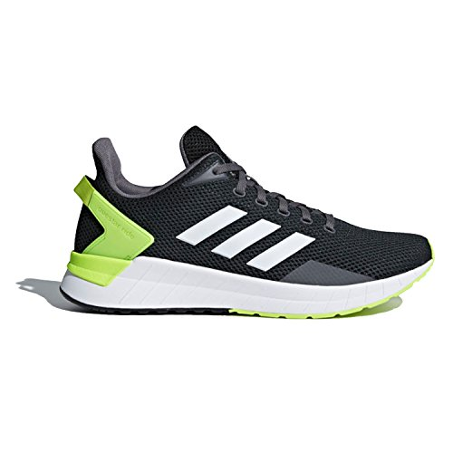 adidas Men's Questar Ride Running Shoe, Carbon/White/Electricity, 12 M US