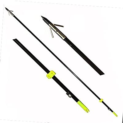 "Safari Choice Three 35"" Bowfishing Arrows with Broadheads"